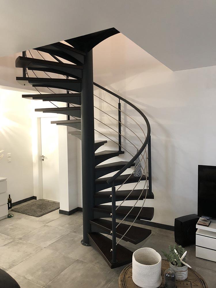 achat et pose escalier h lico dal en moselle lorraine et alsace. Black Bedroom Furniture Sets. Home Design Ideas
