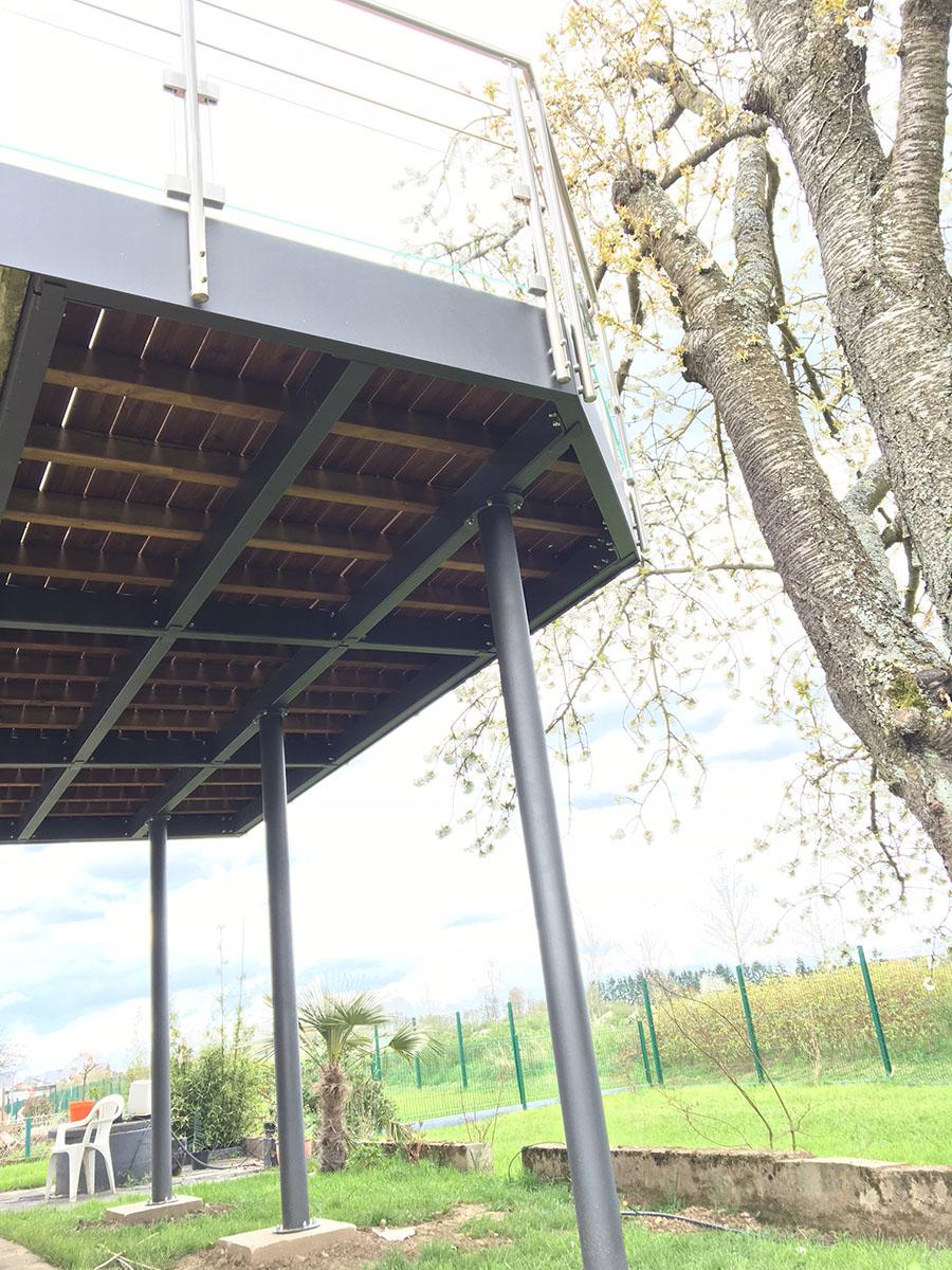 Ossature Métallique Pour Terrasse Bois réalisation de terrasses de qualité en moselle, lorraine et